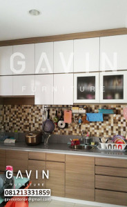 Kitchen Set Minimalis Full Plafon Di BSD City