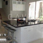 Kitchen set finishing duco hasil Gavin Furniture