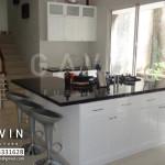 Kitchen set finishing duco hasil Gavin Furniture
