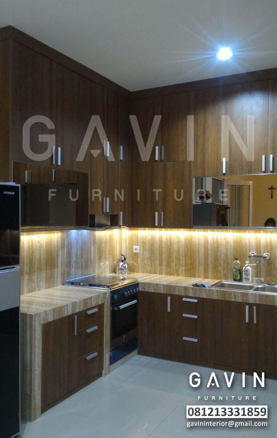 Model Kitchen Set Minimalis 2016 By Gavin Furniture Kitchen Set