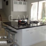 finishing duco untuk kitchen set dan minibar di bintaro