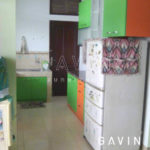 kitchen-set-minimalis-hijau-orange
