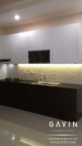 spesifikasi kitchen set minimalis klien ciputat