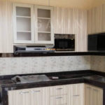 buat kitchen set minimalis hpl