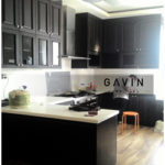desain kitchen set klasik model letter u
