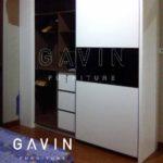 desain lemari pakaian sliding minimalis