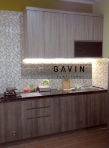 harga kitchen set minimalis modern per meter