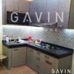 jual kitchen set minimalis modern letter L
