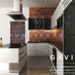 Q2175 pembuatan kitchen set design minimalis modern