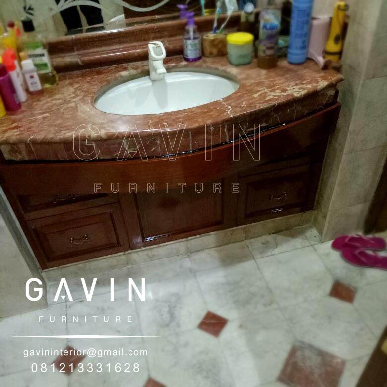 Harga meja wastafel granit kitchen set minimalis for Harga kitchen set duco per meter