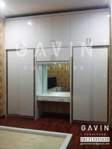 lemari dan meja rias produksi gavin furniture