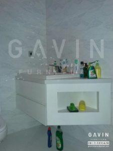 model meja wastafel kamar mandi