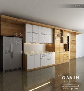 Q2317 desain dapur bersih minimalis
