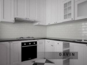jasa pembuatan kitchen set klasik gavin furniture