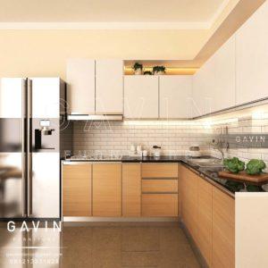 Q2482 design kitchen set minimalis di ciputat