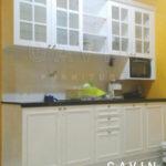 pembuatan kitchen set minimalis semi klasik