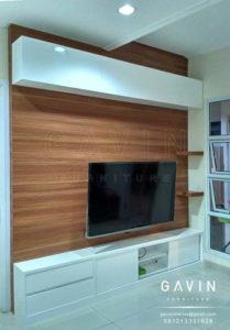 Q2509 backdrop tv minimalis modern gavin furniture