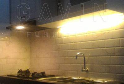 Q2631 jasa pembuatan kitchen set di depok model semi klasik