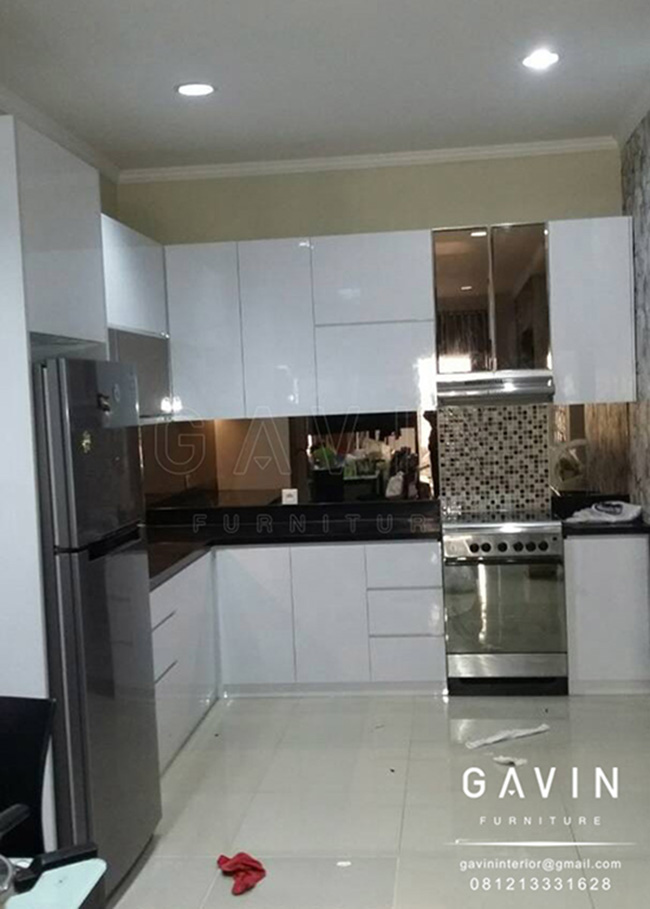 desain kitchen set minimalis modern desain custom