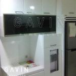 Q2638 dapur bersih finishing duco minimalis semi glossy