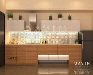 Q2639 pembuatan kitchen set minimalis letter i