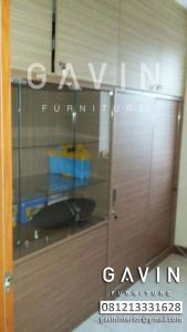 model lemari buffet minimalis finishing hpl