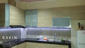 contoh kitchen minimalis HPL TH 1202 FC Aukland Oak Q2699