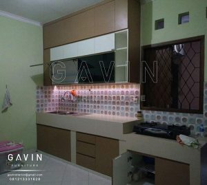 Contoh Kitchen Set Hpl Th 150 Aa Project Depok Kitchen Set