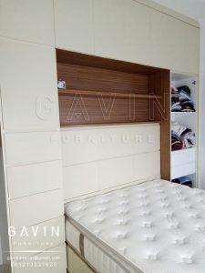 headboard minimalis dan dipan project di cakung by gavin Q2579