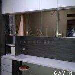 lemari buffet finishing hpl aica ASW13002KM glossy pure Q2540