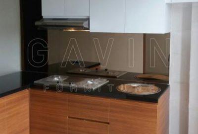 Buat Kitchen Set Minimalis Finihshing HPL Kombinasi Q2468
