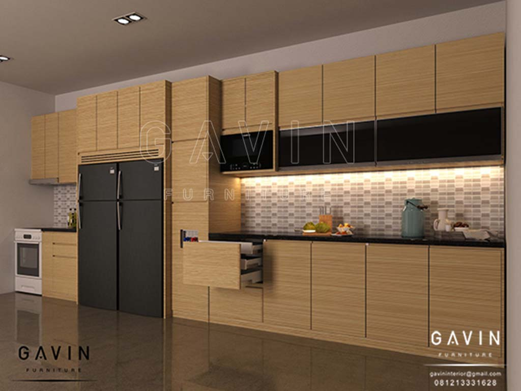 Jasa pembuatan design 3d kitchen set minimalis gavin furniture q2793