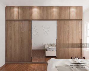 design lemari sliding kaca minimalis project setiabudi Q2719