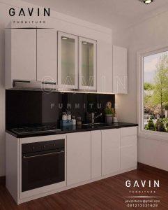 lemari dapur minimalis modern di ciledug Q2841