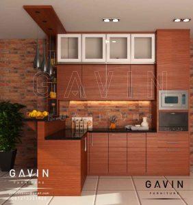 buat lemari dapur dan meja bar minimalis modern by gavin Q2945