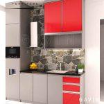 kitchen set dengan papan upvc di Gavin Furniture