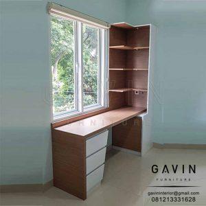 contoh meja belajar minimalis by Gavin Furniture