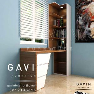 design meja belajar anak minimalis modern by Gavin Q3037