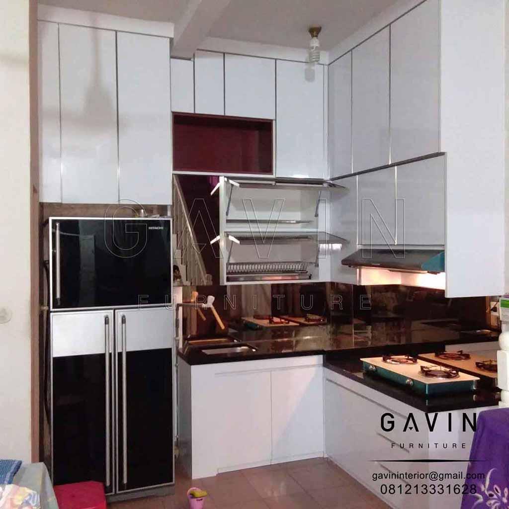 Kitchen Set Hpl Glossy: Kitchen Set Minimalis Murah Di Kebun Jeruk Jakarta Barat