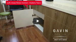 Engsel Pintu Slow Motion Kitchen Set Minimalis Lemari Pakaian