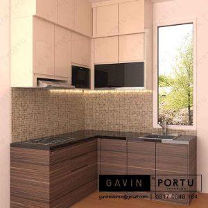 buat design kitchen set dapur kecil dan sederhana id3220