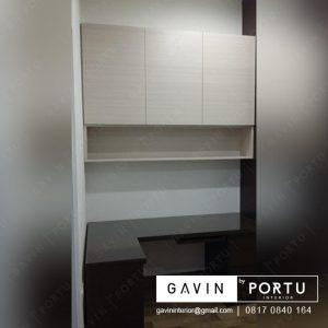 kabinet gantung dinding finishing hpl kombinasi di jakarta utara id3207