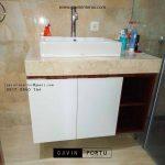 desain kabinet wastafel minimalis project di Kosambi Dalam id3408