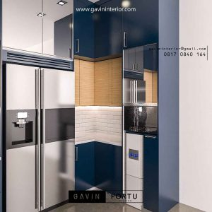design lemari dapur kering letter u by Gavin id3286