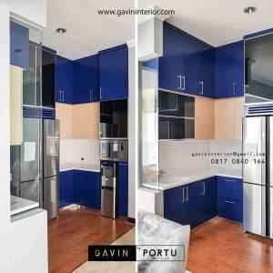 lemari dapur kering model minimalis modern project pondok indah id3286