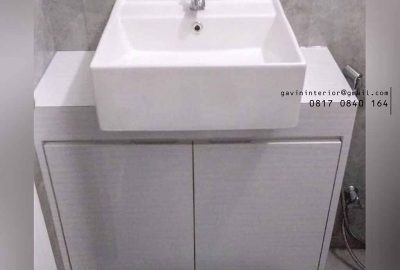 buat kabinet wastafel design minimalis di kemayoran id3003