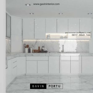 gambar kitchen set hpl minimalis modern by Gavin id3444