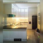 gambar kitchen set model klasik putih di jombang by Gavin id2264
