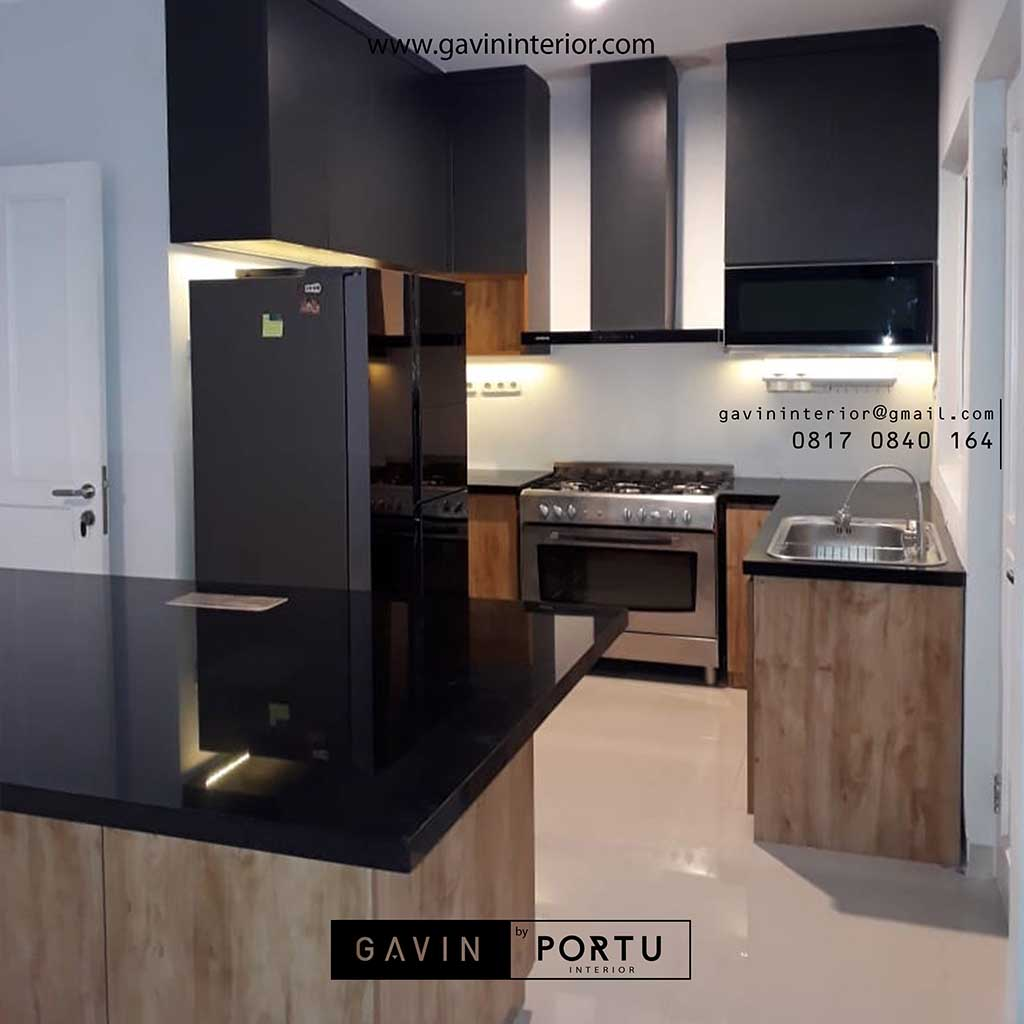 Buat Kitchen Set Motif Kayu Komplek Nusa Indah Residence Bogor Kitchen Set Minimalis Lemari Pakaian Custom Hpl Duco Dan Laker Terbaik