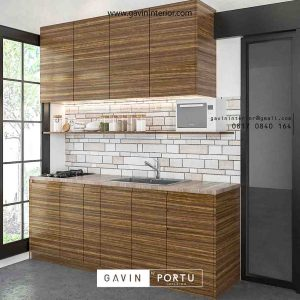 contoh design kitchen set minimalis dapur kecil id3498